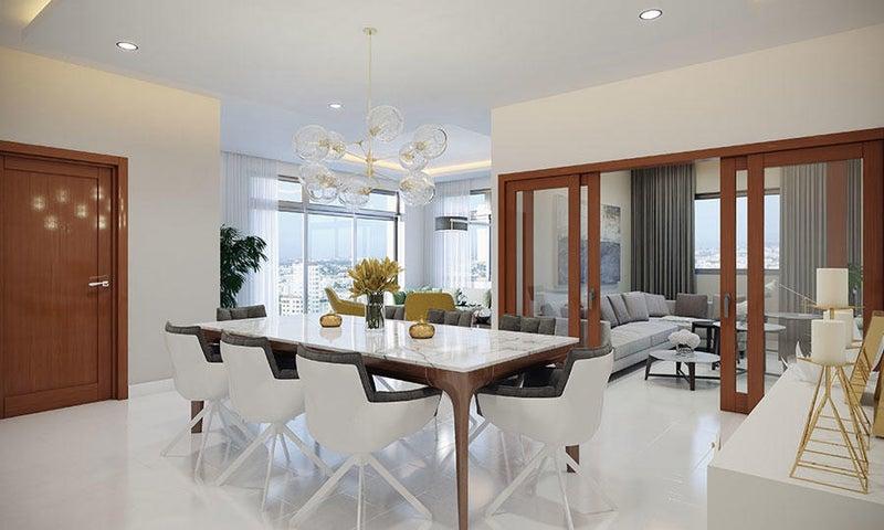 Apartamento Santo Domingo>Distrito Nacional>Naco - Venta:190.000 Dolares - codigo: 17-1094