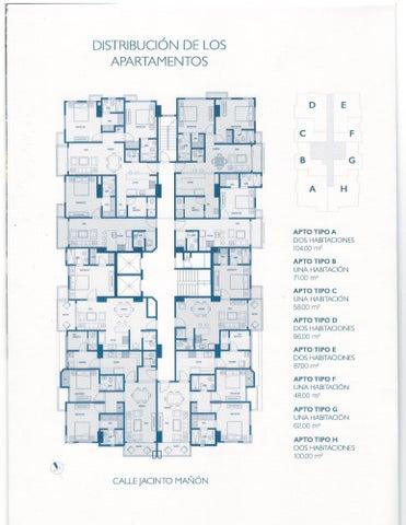 Apartamento Santo Domingo>Distrito Nacional>Paraiso - Venta:164.000 Dolares - codigo: 17-1111
