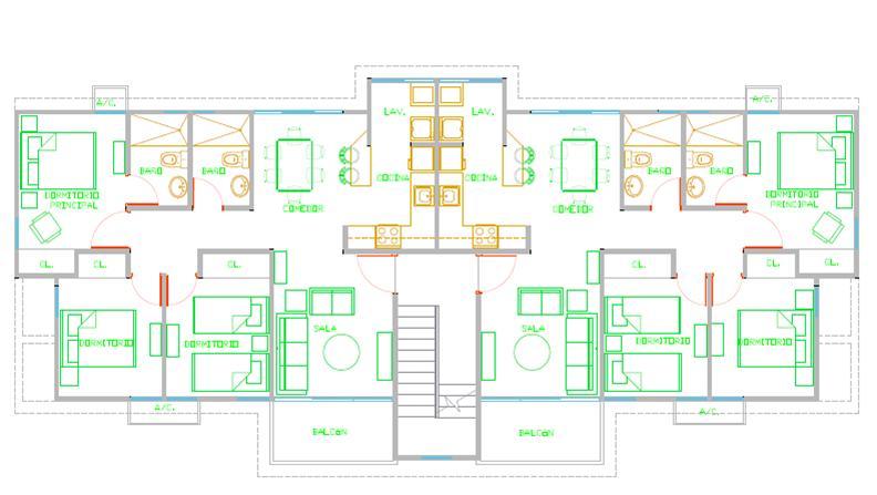 Apartamento Santo Domingo>Santo Domingo Norte>Cd Modelo Mirador Norte - Venta:2.396.280 Pesos - codigo: 17-1333