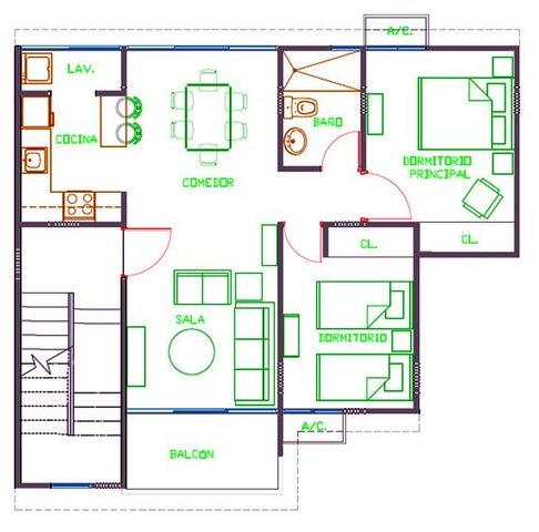 Apartamento Santo Domingo>Santo Domingo Norte>Cd Modelo Mirador Norte - Venta:2.396.280 Pesos - codigo: 17-1335