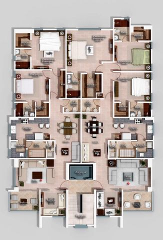 Apartamento Santo Domingo>Distrito Nacional>Renacimiento - Venta:149.500 Dolares - codigo: 18-46