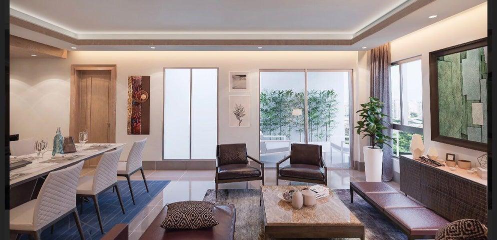 Apartamento Santo Domingo>Distrito Nacional>Evaristo Morales - Venta:158.798 Dolares - codigo: 18-69
