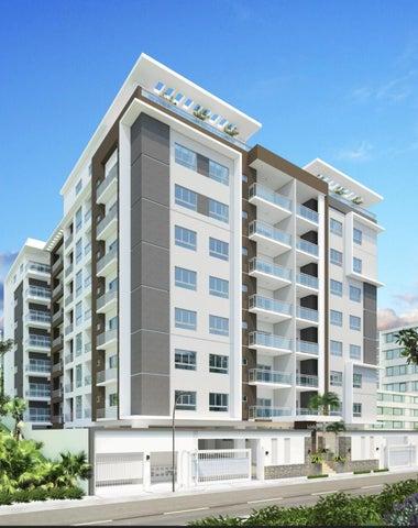 Apartamento Santo Domingo>Distrito Nacional>Bella Vista - Venta:158.000 Dolares - codigo: 18-166