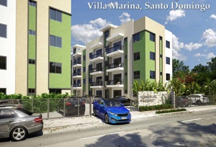Apartamento Santo Domingo>Santo Domingo Oeste>Juan Pablo Duarte - Venta:3.850.000 Pesos - codigo: 18-312