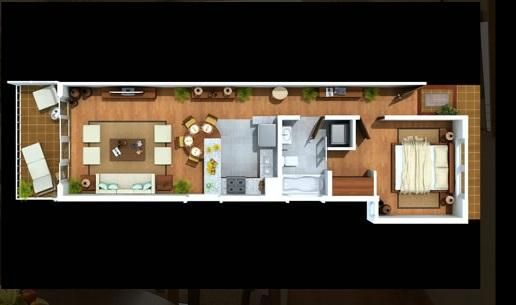Apartamento San Pedro de Macoris>Juan Dolio>Guavaberry - Venta:146.250 Dolares - codigo: 18-326