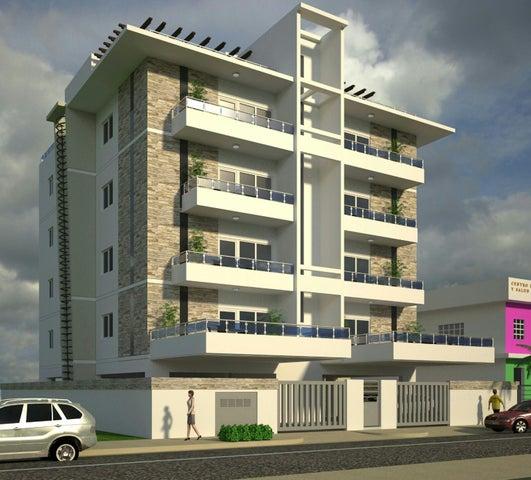 Apartamento Distrito Nacional>Santo Domingo>Los Prados - Venta:160.000 Dolares - codigo: 18-393