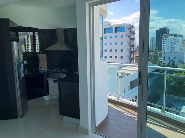 Apartamento Santo Domingo>Distrito Nacional>Piantini - Alquiler:1.100 Dolares - codigo: 18-461