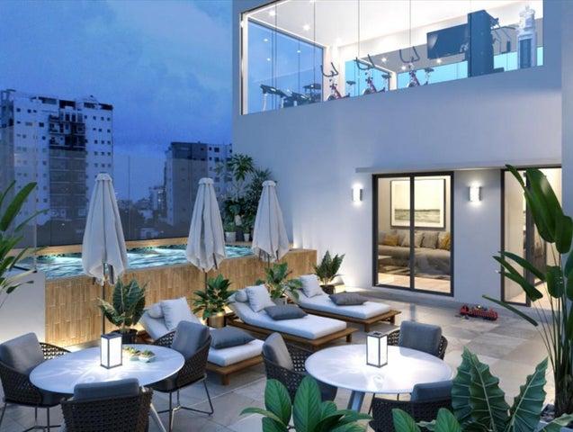 Apartamento Santo Domingo>Distrito Nacional>Evaristo Morales - Venta:218.700 Dolares - codigo: 18-535