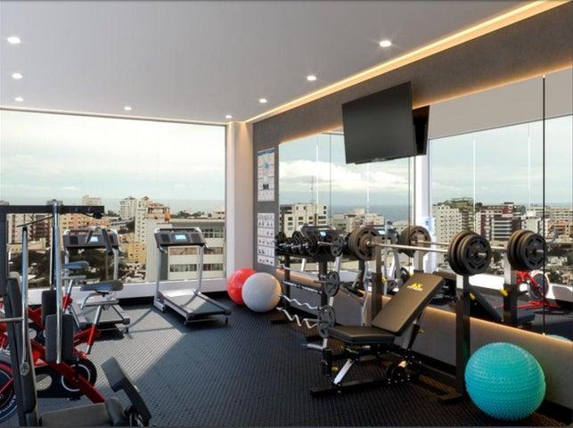 Apartamento Santo Domingo>Distrito Nacional>Evaristo Morales - Venta:152.200 Dolares - codigo: 18-538