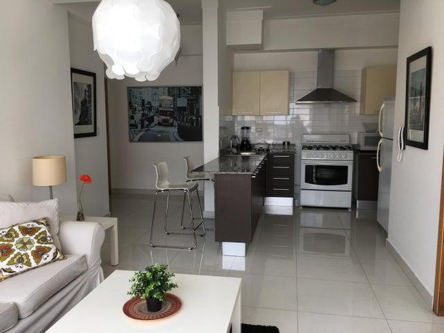 Apartamento Distrito Nacional>Santo Domingo Dtto Nacional>Serralles - Alquiler:800 Dolares - codigo: 18-617