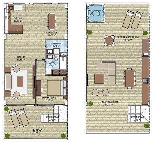 Apartamento La Altagracia>Punta Cana>Bavaro - Venta:328.200 Dolares - codigo: 18-663