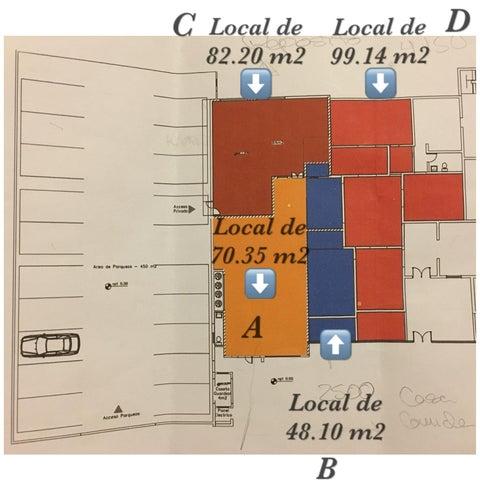 Local Comercial Distrito Nacional>Santo Domingo Dtto Nacional>Naco - Alquiler:1.400 Dolares - codigo: 18-698