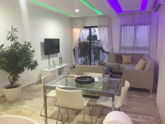 Apartamento Santo Domingo>Distrito Nacional>Piantini - Alquiler:1.200 Dolares - codigo: 18-711