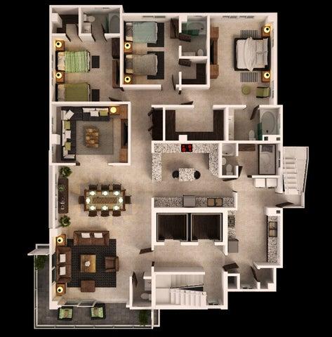 Apartamento Santo Domingo>Distrito Nacional>Naco - Venta:440.000 Dolares - codigo: 18-788