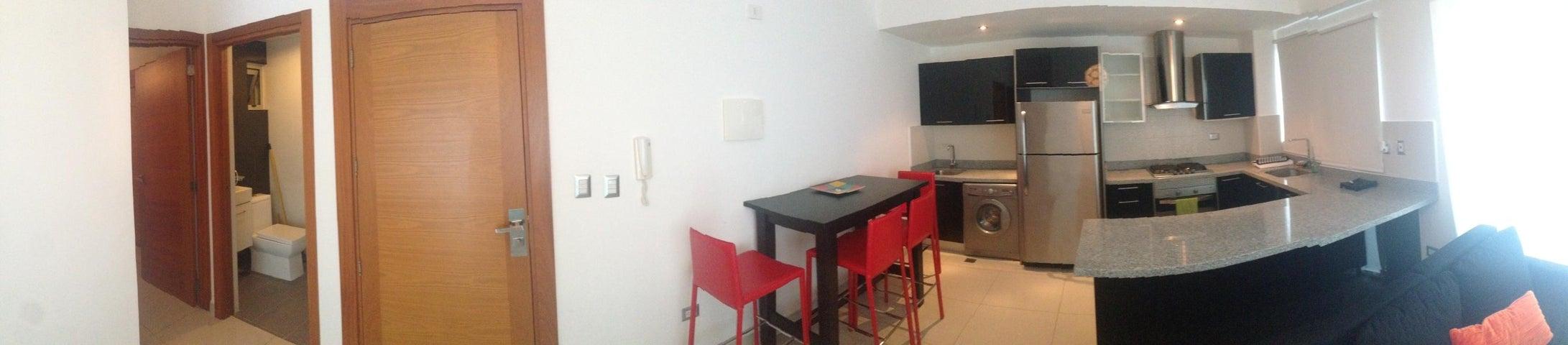 Apartamento Santo Domingo>Distrito Nacional>Piantini - Alquiler:1.100 Dolares - codigo: 18-891