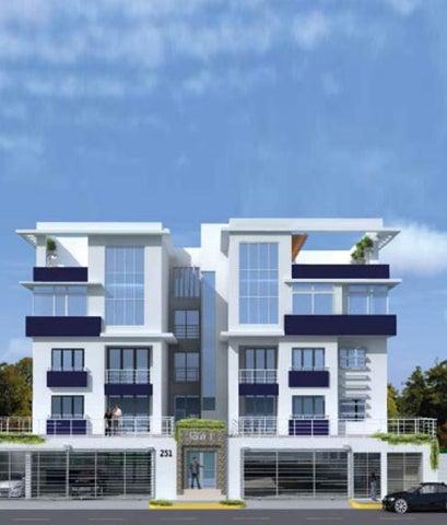 Apartamento Santo Domingo>Distrito Nacional>Julienta Morales - Venta:205.000 Dolares - codigo: 18-1036
