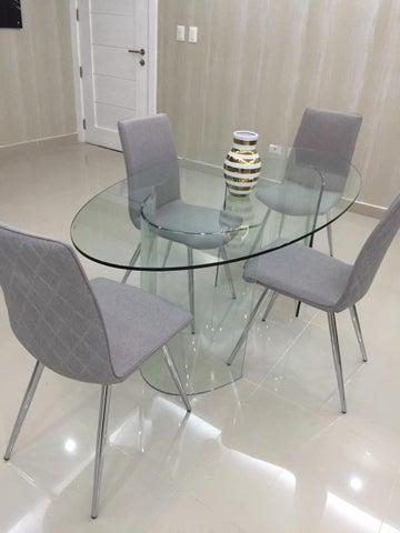 Apartamento Santo Domingo>Distrito Nacional>Evaristo Morales - Alquiler:1.300 Dolares - codigo: 18-1188