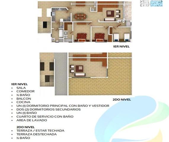 Apartamento Santo Domingo>Distrito Nacional>El Millon - Venta:160.000 Dolares - codigo: 18-1211