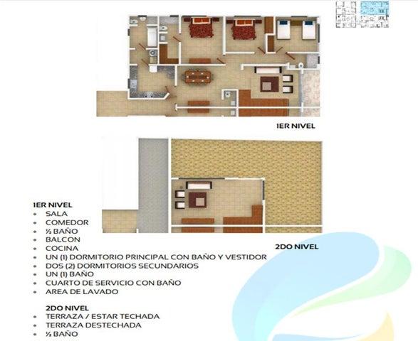 Apartamento Santo Domingo>Distrito Nacional>El Millon - Venta:160.000 Dolares - codigo: 18-1212
