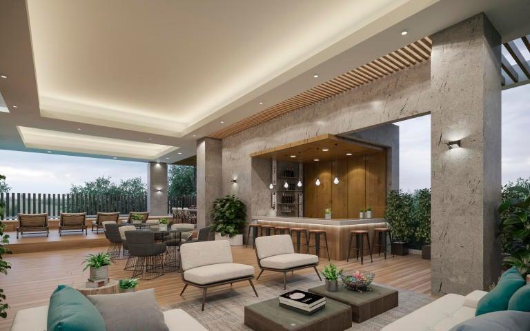 Apartamento Santo Domingo>Distrito Nacional>Paraiso - Venta:580.961 Dolares - codigo: 18-1293