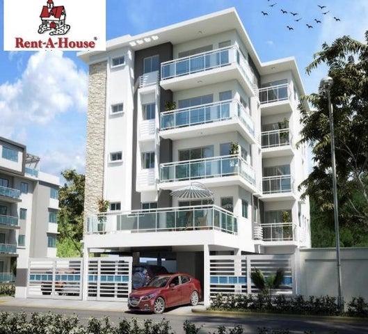 Apartamento Santo Domingo>Distrito Nacional>La Castellana - Venta:126.500 Dolares - codigo: 18-1310