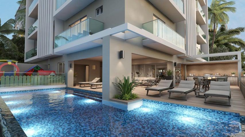 Apartamento Santo Domingo>Distrito Nacional>La Julia - Venta:109.900 Dolares - codigo: 18-885