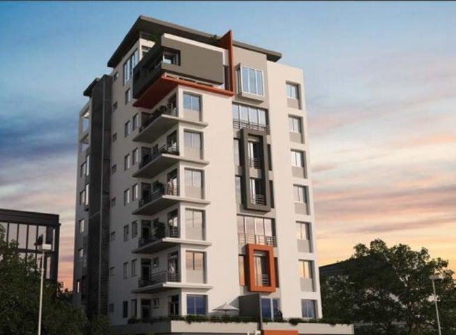 Apartamento Santo Domingo>Distrito Nacional>Evaristo Morales - Venta:98.000 Dolares - codigo: 18-1369