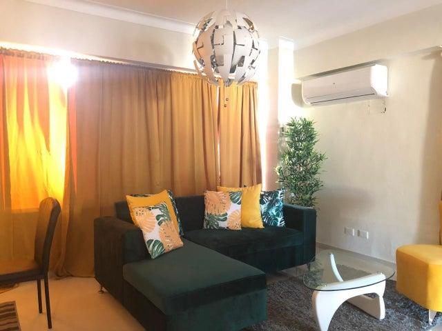Apartamento Santo Domingo>Distrito Nacional>El Vergel - Alquiler:1.100 Dolares - codigo: 18-1373