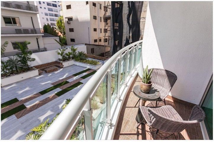 Apartamento Santo Domingo>Distrito Nacional>Piantini - Alquiler:1.300 Dolares - codigo: 18-1379