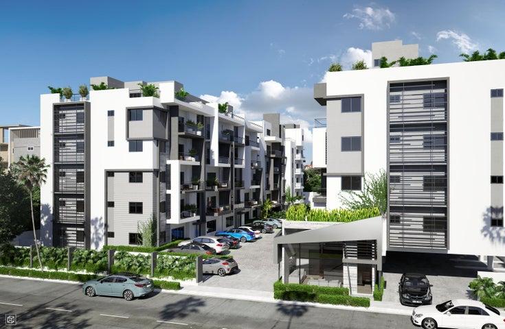 Apartamento Santo Domingo>Distrito Nacional>Arroyo Hondo - Venta:135.000 Dolares - codigo: 18-1402