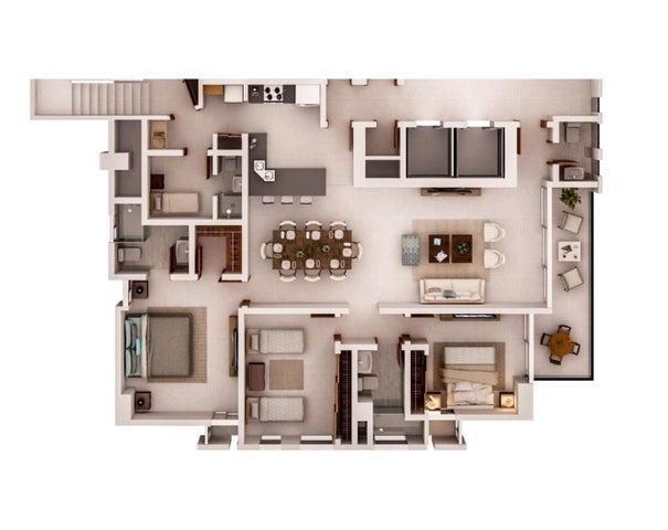 Apartamento Santo Domingo>Distrito Nacional>Bella Vista - Venta:340.000 Dolares - codigo: 18-1422