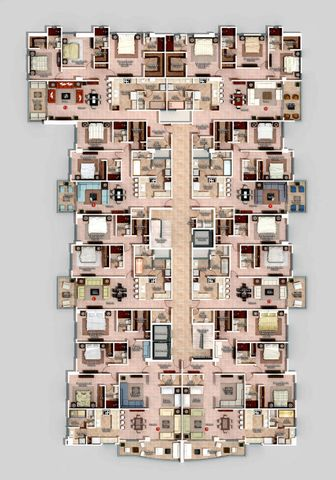 Apartamento Santo Domingo>Distrito Nacional>Naco - Venta:186.000 Dolares - codigo: 19-28