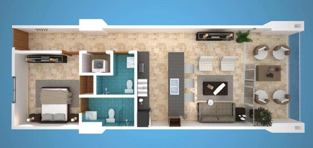 Apartamento San Pedro de Macoris>Juan Dolio>Juan Dolio - Venta:96.000 Dolares - codigo: 19-30