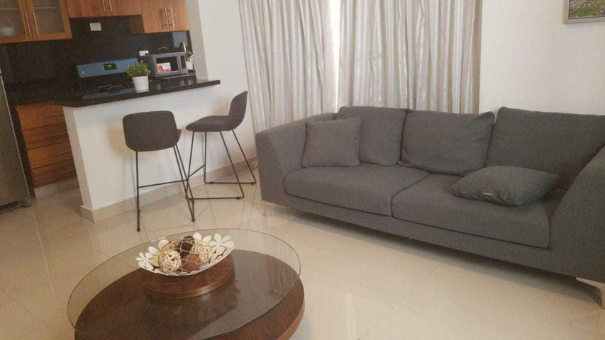 Apartamento Santo Domingo>Distrito Nacional>Piantini - Alquiler:1.200 Dolares - codigo: 19-89
