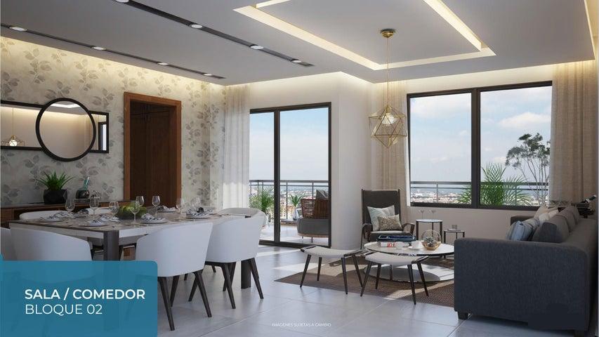 Apartamento Santo Domingo>Distrito Nacional>Evaristo Morales - Venta:172.900 Dolares - codigo: 19-127