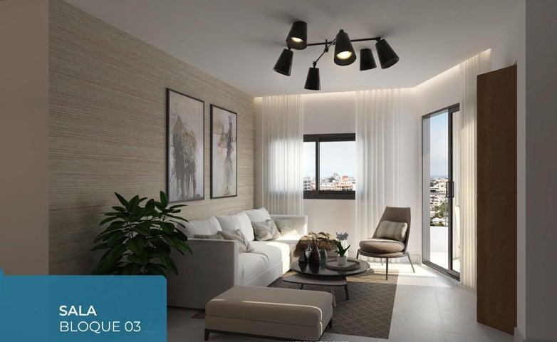 Apartamento Santo Domingo>Distrito Nacional>Evaristo Morales - Venta:116.200 Dolares - codigo: 19-129