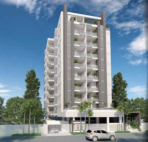 Apartamento Santo Domingo>Distrito Nacional>Evaristo Morales - Venta:94.000 Dolares - codigo: 19-137
