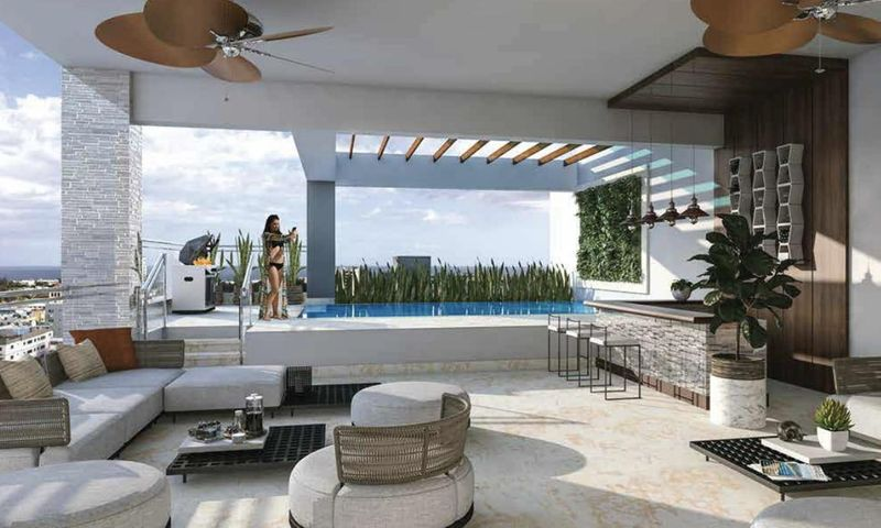 Apartamento Santo Domingo>Distrito Nacional>Evaristo Morales - Venta:212.000 Dolares - codigo: 19-139