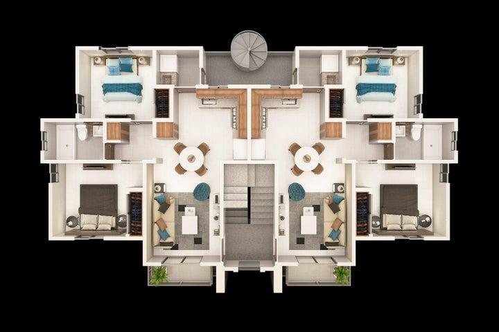 Apartamento Santo Domingo>Santo Domingo Oeste>Villa Aura - Venta:2.150.000 Pesos - codigo: 19-162