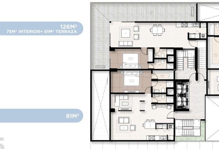 Apartamento Santo Domingo>Distrito Nacional>Piantini - Venta:200.000 Dolares - codigo: 19-222