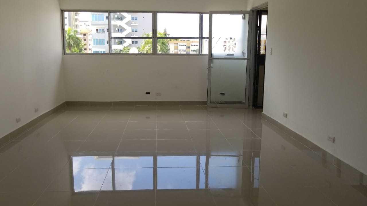 Oficina Santo Domingo>Distrito Nacional>Evaristo Morales - Alquiler:1.194 Dolares - codigo: 19-233