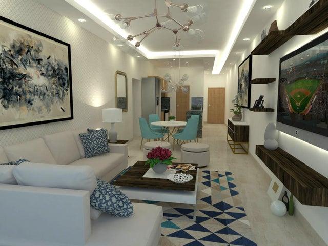 Apartamento Santo Domingo>Distrito Nacional>Los Cacicazgos - Venta:280.000 Dolares - codigo: 19-263