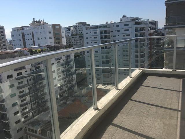 Apartamento Santo Domingo>Distrito Nacional>Piantini - Alquiler:2.100 Dolares - codigo: 19-270
