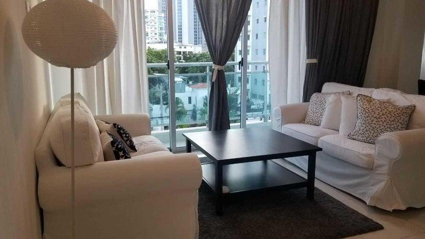 Apartamento Santo Domingo>Distrito Nacional>Piantini - Alquiler:1.200 Dolares - codigo: 19-552