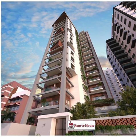 Apartamento Santo Domingo>Distrito Nacional>Naco - Venta:309.000 Dolares - codigo: 19-570