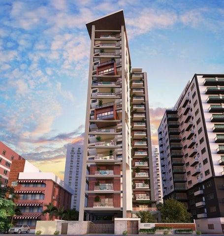 Apartamento Santo Domingo>Distrito Nacional>Naco - Venta:250.100 Dolares - codigo: 19-571
