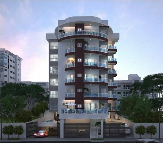 Apartamento Santo Domingo>Distrito Nacional>Bella Vista - Venta:220.000 Dolares - codigo: 19-595