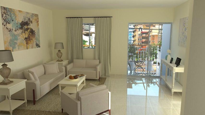 Apartamento Santo Domingo>Distrito Nacional>Miramar - Venta:96.950 Dolares - codigo: 19-646