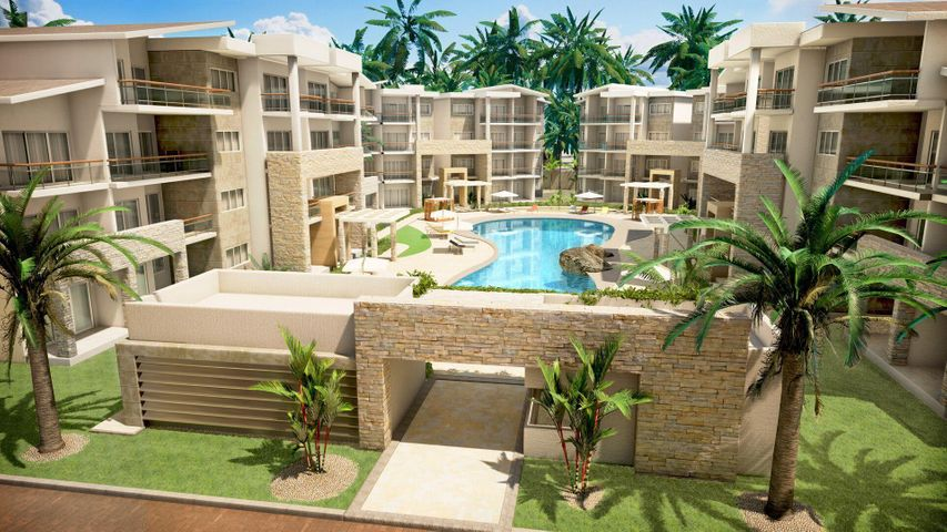 Apartamento La Altagracia>Punta Cana>Bavaro - Venta:235.000 Dolares - codigo: 19-674