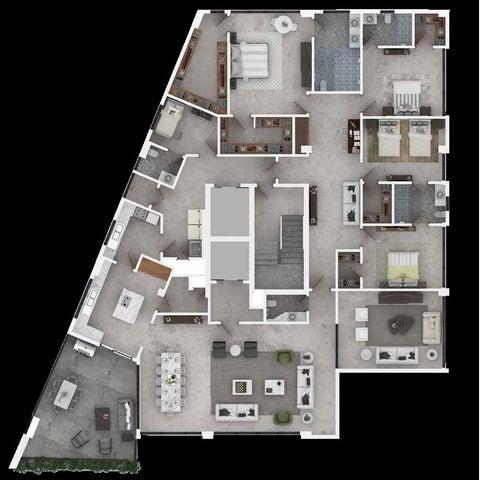 Apartamento Santo Domingo>Distrito Nacional>Paraiso - Venta:850.000 Dolares - codigo: 19-838